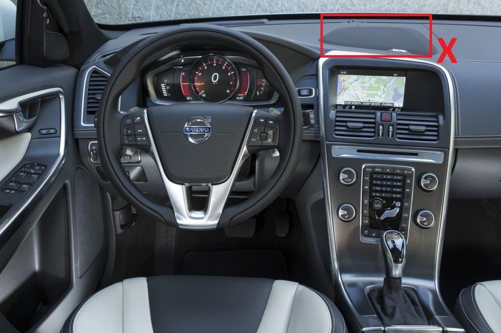 """Navegador SA-1701S1A8 7"""" para Volvo XC60 - Mexa CNO"""
