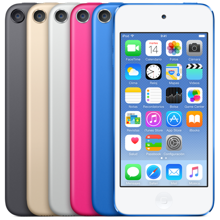 Apple iPod Touch 32Gb o 128Gb (Varios colores a elegir)