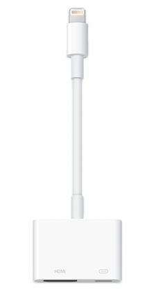 Apple Adaptador de Conector Lightning a AV Digital