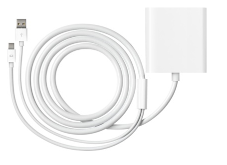 Apple Adaptador de Mini DisplayPort a DVI de doble canal