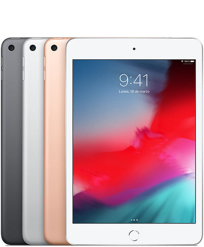 "Apple iPad Mini 7,9"" (Modelo 03-2019) - Colores Plata, Oro o Gris - Wifi o Cellular de 64GB y 256GB"