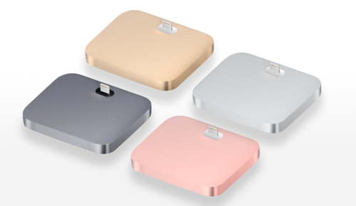 Base Dock Lightning para el iPhone (Varios colores)
