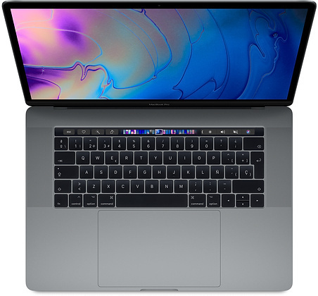 "Apple MacBook Pro 15"" 512GB Touch Bar y Touch ID (Gris espacial o Plata)"