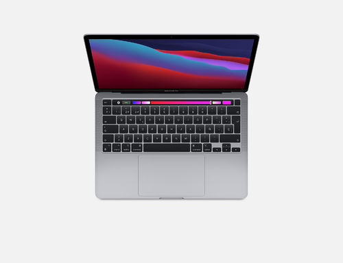 "Apple MacBook Pro 13"" CHIP M1, 256GB Touch Bar y Touch ID (11-2020) (Gris espacial o Plata)"