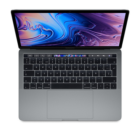 "Apple MacBook Pro 13"" 256GB Touch Bar y Touch ID (Gris espacial o Plata) (P 16GB)"