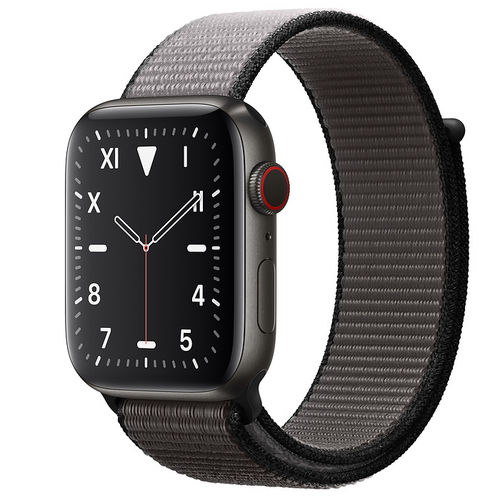 Apple Watch S5 Caja de Titanio en Negro espacial de 40mm o 44mm, Cellular. 27 Correas a elegir