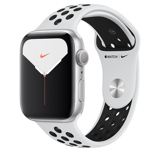 Apple Watch S5 Nike,Caja de aluminio en Plata de 40mm o 44mm, GPS o Cellular. 10 Correas a elegir