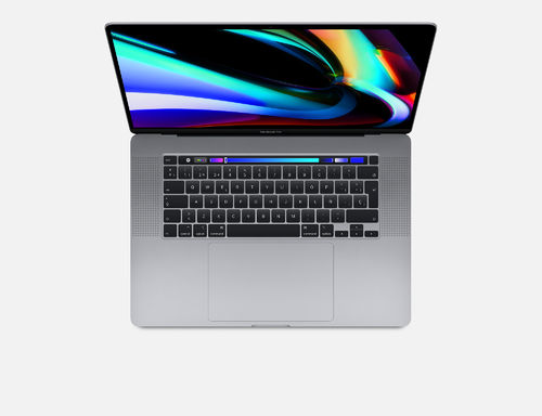 "Apple MacBook Pro 16"" 1TB Touch Bar y Touch ID (Gris espacial o Plata). (P i9 2,4GHz, 32GB y Gr 8GB)"